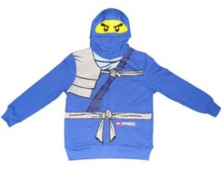 Lego Ninjago Jay the Blue Ninja Boys Hooded Sweatshirt (L (10/12)) Clothing