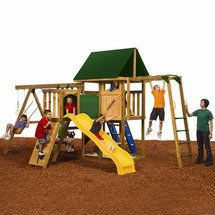 Playstar Inc. Legend Silver Swing Set Outdoor Play