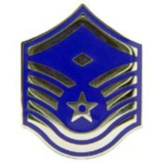 """U.S. Air Force E7 First Sergeant Pin 1 7/16"""" Toys & Games"""