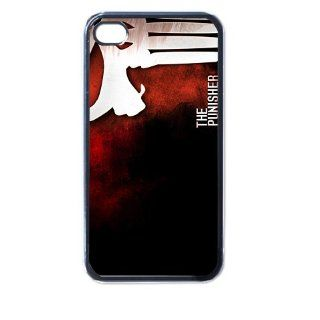 the punisher iphone case for iphone 4 and 4s black: Cell Phones & Accessories