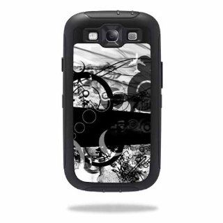 MightySkins Protective Vinyl Skin Decal Cover for OtterBox Defender Samsung Galaxy S III S3 Case Sticker Skins Confusion: Cell Phones & Accessories