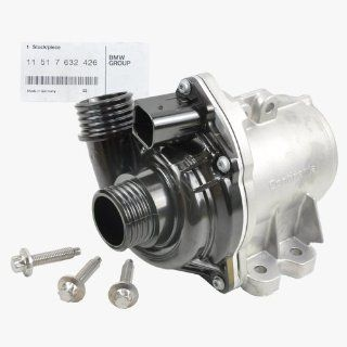 BMW Engine Water Pump Electric + Bolts (Turbocharged Engine) Genuine OE Automotive