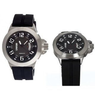 Breed Alpha Black Dial Mens Watch #5002: Breed: Watches