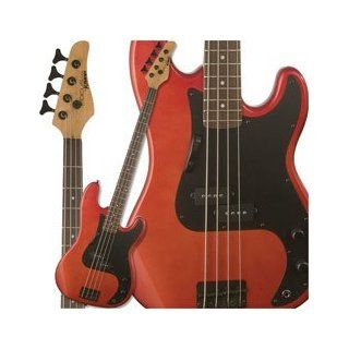 Kramer Focus 420S Bass, Candy Apple Red Musical Instruments