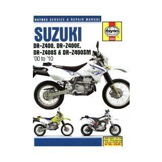 Suzuki DR Z400/DR Z400E/DR Z400S & DR Z400SM 2000 2010 Repair Manual [Paperback] [2012] (Author) Haynes: Books