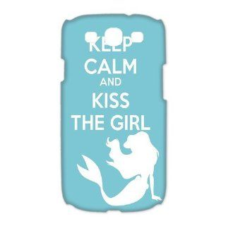 Custom The Little Mermaid 3D Cover Case for Samsung Galaxy S3 III i9300 LSM 3525: Cell Phones & Accessories