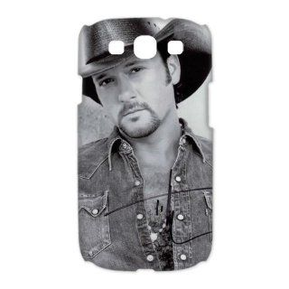 Custom Tim McGraw 3D Cover Case for Samsung Galaxy S3 III i9300 LSM 3643: Cell Phones & Accessories