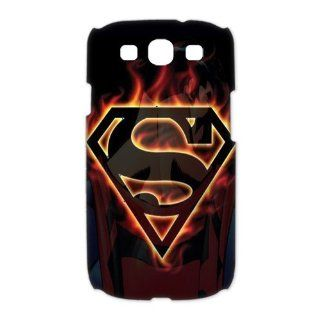 Custom Superman 3D Cover Case for Samsung Galaxy S3 III i9300 LSM 3374: Cell Phones & Accessories