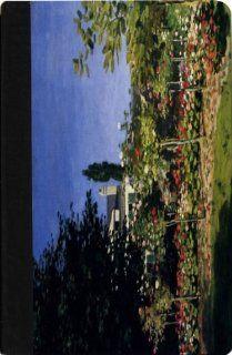 Rikki KnightTM Claude Monet Art Garden in Flower at Saint Adresse   Noble Nook� ColorTM Notebook Case Computers & Accessories