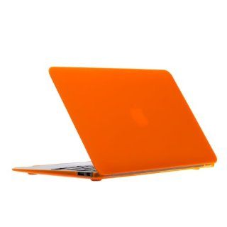 """New Release Limited Time Offer UPPERCASE Soft Touch Hard Shell Case for Macbook Air 13.3"""", Orange Computers & Accessories"""