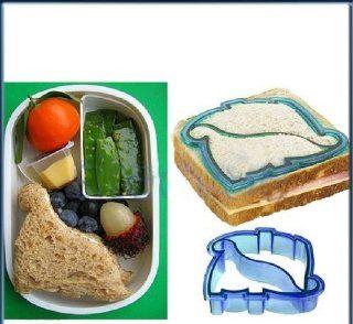 Ostart Dinosaur Shape Kids Lunch Sandwich Toast Cookies Biscuit Cutter Mold Mould Blue  Grocery & Gourmet Food