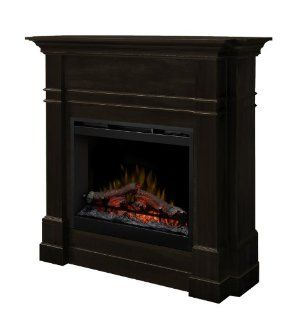 Dimplex DFP26 5337ES Colton 49 Inch Tall by 47.7 Inch Wide Electric Fireplace Mantel, Espresso: Home & Kitchen