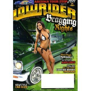 Lowrider October 2011 Pricilla Reyes on Cover (also a 1964 Chevy Impala), Scosche Wire Install, Centric Performance Brakes, Klique '64 Impala, '59 Impala Convertible, '53 Club Coupe, '61 X Man Rag, '47 Fleetline, '69 El Camino Conve