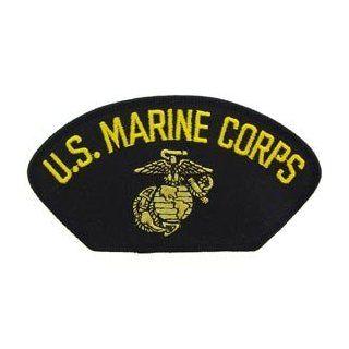 US Marines Military Iron On Hat Or Shirt Patch   U.S. Marine Corps Logo Clothing