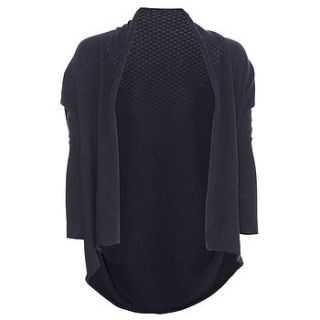 organic cotton shrug cardie by liv   organic & sustainable living