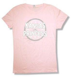 "Jason Aldean ""Kansas Princess"" Pink Baby Doll T Shirt New Juniors Fashion T Shirts"