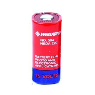 504 Eveready M504 15 volts NEDA 220 Single Battery : Digital Camera Batteries : Camera & Photo