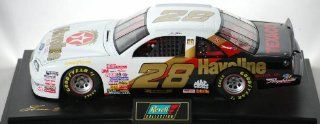 1997   Revell Monogram Inc   Revell Collection Club / NASCAR   Ernie Irvan   #28 Texaco / Havoline Racing   10th Anniversary   Ford Thunderbird   Mounted   1:18 Scale Die Cast Metal   #418 of 504 Produced   New   Out of Production   Mint   Rare   Collectib