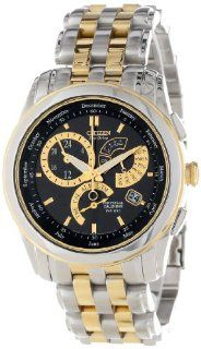 """Citizen Men's BL8004 53E Eco Drive """"Calibre 8700"""" Two Tone Stainless Steel Watch at  Men's Watch store."""