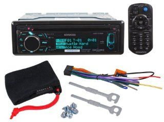 Brand New Kenwood KDC X496 Single Din In Dash Car Stereo CD Receiver with AM/FM Tuner and Built in MOSFET Amplifier