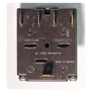 GENERAL ELECTRIC ASR5173 496 5 POSITION ROTARY SWITCH 8 AMP   Wall Light Switches