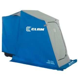 Clam Dave Genz Legend Thermal 1 Man Ice Fishing Shelter w/Battery Bracket 733812
