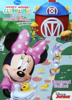 "Disney Mickey Mouse Clubhouse Minnie Mouse & Friends Coloring Book ""Barnyard Cuties"" Toys & Games"