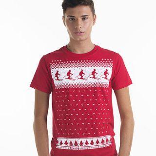men's winter ski t shirt by jolly