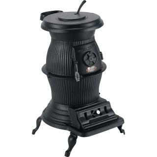 Vogelzang 650,000 BTU Cast Iron Pot Belly Stove, Model# PB65XL  Wood Stoves