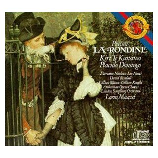 Puccini   La Rondine / Te Kanawa � Doningo � Nicolesco � Nucci � Rendall � L. Watson � G. Knight � LSO � Maazel: Music