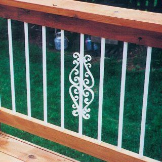 Deckorators 74784 Classical Baluster Centerpiece, Bronze   Staircase Balusters