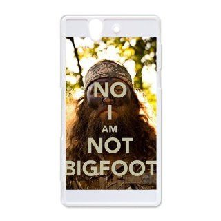 Duck Dynasty Hard Plastic Back Cover Case for Sony Xperia Z: Cell Phones & Accessories