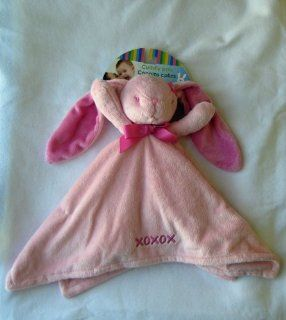 Honey Bunny Cuddly Pals Baby Soft Plush Bunny Security Blanket Toys & Games