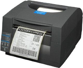 Citizen America Corporation Citizen Cl s521 Direct Thermal Printer   Monochrome   Desktop   Label Print (cl s521 ec gry)   : Label Makers : Office Products