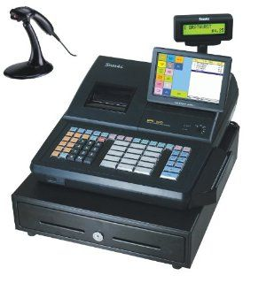 SAM4S SPS 530 RT Cash Register with MS9540 Scanner : Electronic Cash Registers : Electronics