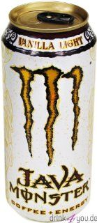Monster Energy Java Monster Coffee+Energy Lo Ball 24 x 15 Oz : Grocery & Gourmet Food