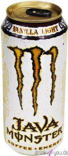 Monster Energy Java Monster Coffee+Energy Lo Ball 24 x 15 Oz : Grocery & Gourmet Food