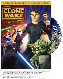 Star Wars The Clone Wars   A Galaxy Divided  Season 1, Vol. 1 Tom Kane, Dee Bradley Baker, Matt Lanter, James Arnold Taylor, Ashley Eckstein, Corey Burton, Matthew Wood, Terrence 'T.C.' Carson, Catherine Taber, Ian Abercrombie, Stephen Stanton, N
