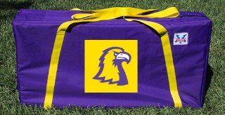 Tennessee Technological University TTU Golden Eagles Cornhole Storage Carrying Case  Sports Fan Bags  Sports & Outdoors