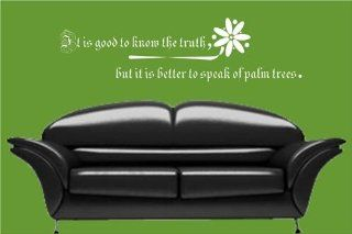 Decoration wall sticker wall mural decor arabic quotes know the truth   Home Decor Products