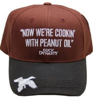 Duck Dynasty Cap Hat Adjustable Back Fits All: Clothing