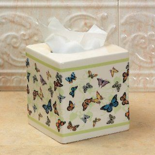 Butterfly Tissue Box Cover   Home Decor   Tissue Holders