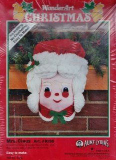 Aunt Lydia's Mrs. Claus Craft Kit WonderArt Christmas: Toys & Games