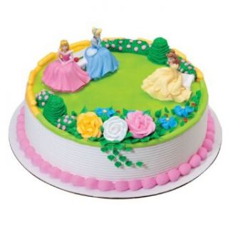 Disney Princess Cake Decoration Kit : Disney Princess Garden Royalty Cake Decoration Topper Kit ...