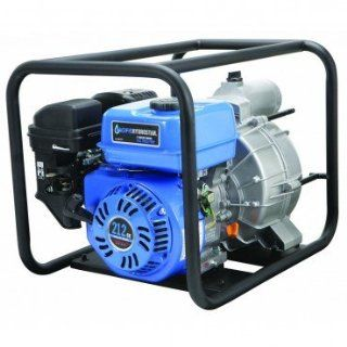 3 inch 6.5 HP Trash, Solids, Slurry, Waste Handling Pump with 212cc 4 stroke OHV Gas Engine with Recoil Start, EPA Certified, 15, 840 GPH; INCLUDED: intake strainer, hose clamps and spark plug wrench   Sump Pumps