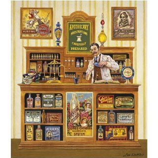 Lee Dubin The Apothecary Jigsaw Puzzle 550pc Toys & Games