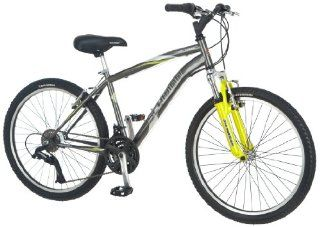 Schwinn Boy's High Timber Mountain Bike (24 Inch, Dark Silver) : Sports & Outdoors