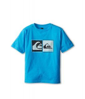 Quiksilver Kids After Hours Tee Boys T Shirt (Blue)