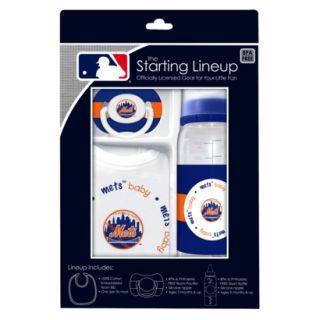 MLB New York Mets 3Pc Baby Gift Set   3M+