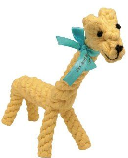 Good Karma Rope Toy   Jerry the Giraffe   Small : Pet Toy Ropes : Pet Supplies
